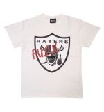 HATERS Tシャツ  ホワイト