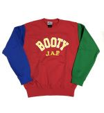 BOOTY J.A.P.切り替え クルーネック  レッド